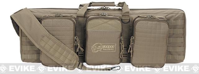 Voodoo Tactical 36 Lockable MOLLE Padded Weapons Case / Gun Bag - Coyote Brown