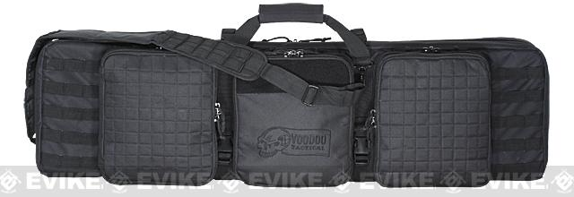 Voodoo Tactical 42 Lockable MOLLE Padded Weapons Case / Gun Bag - Black