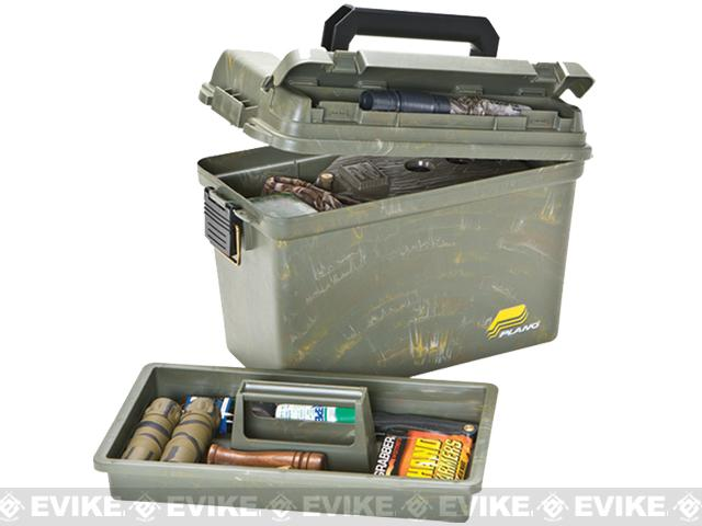 Plano Deep Storage Field Box with Lift-Out Tray - Camo