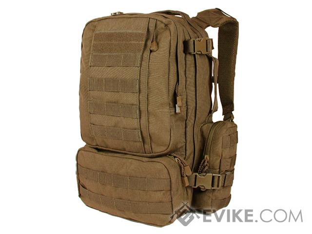 Condor Convoy Tactical Outdoor Pack (Color: Coyote Brown)
