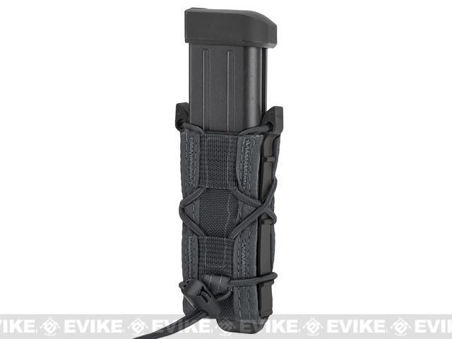 HSGI Pistol TACO® LT Modular Single Pistol Magazine MOLLE Mounted Pouch - Wolf Grey