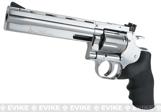 Dan Wesson 715 CO2 Powered 4.5mm BB Revolver - Silver (4.5mm AIRGUN NOT AIRSOFT)