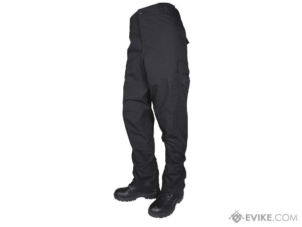 Tru-Spec Basic BDU Pants - Black (Size: Medium)