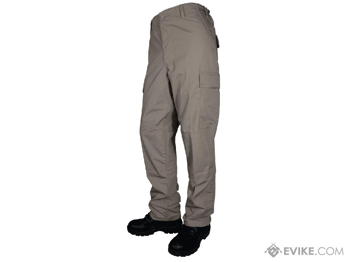 Tru-Spec Basic BDU Pants - Khaki (Size: Medium)