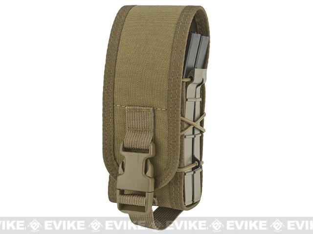 HSGI X2R Covered TACO Modular Double Magazine MOLLE Pouch (Color: Coyote Brown)