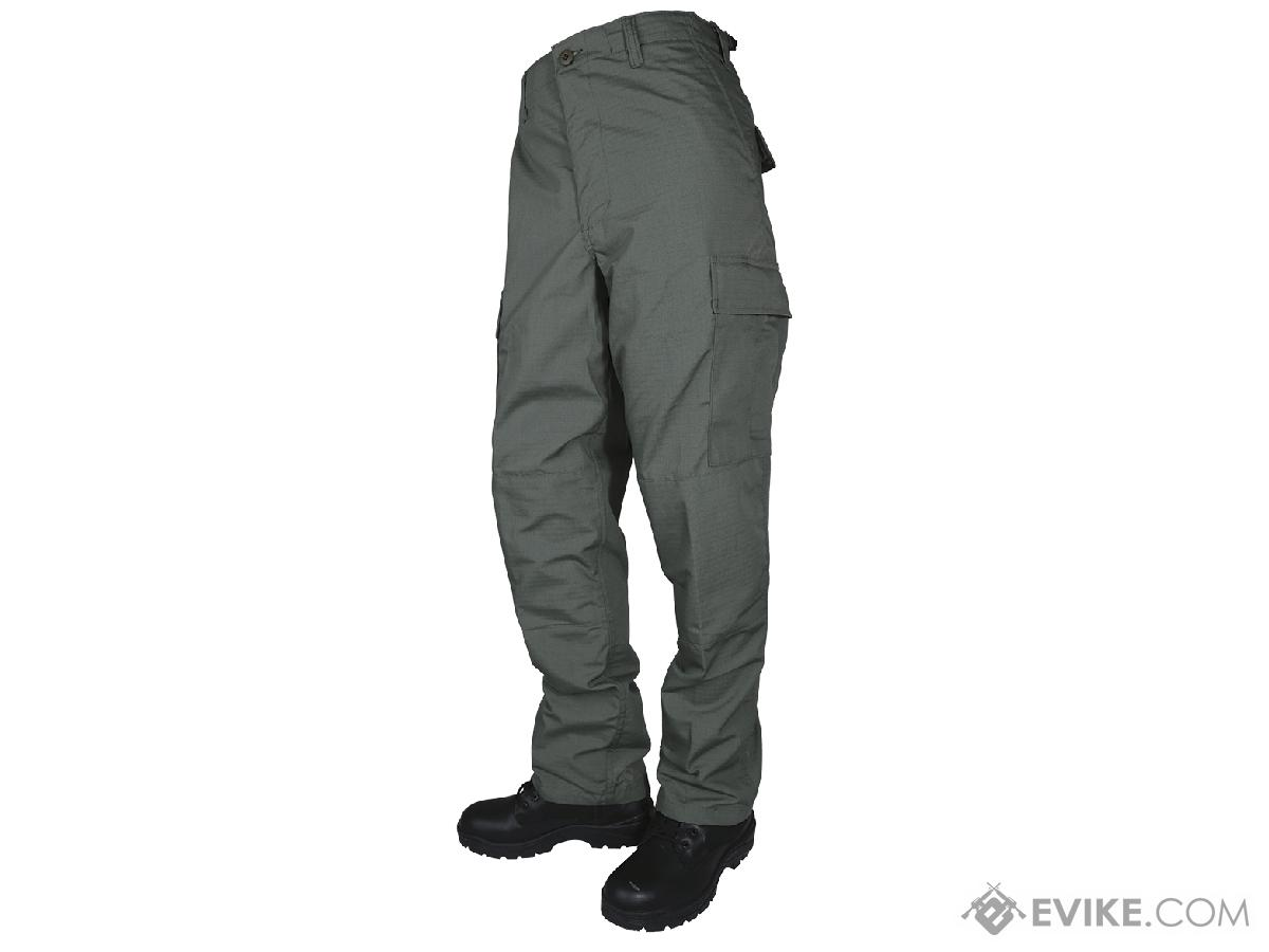 Tru-Spec Basic BDU Pants - OD Green (Size: Medium)