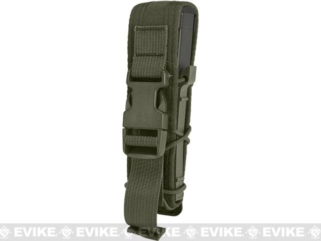 HSGI Covered Pistol TACO® Modular Single Pistol Magazine Pouch - OD Green