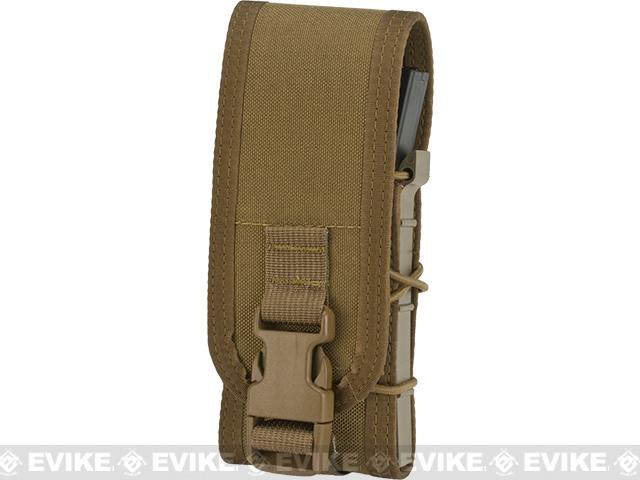 HSGI Single Covered TACO Modular Single Magazine MOLLE Pouch - Coyote