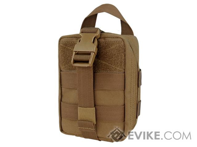 Condor Tactical MOLLE Rip-Away EMT Lite Pouch - Coyote Brown