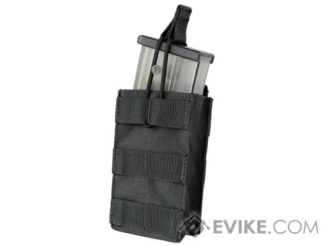 Condor Single Open Top Magazine Pouch for G36 Magazines (Color: Black)