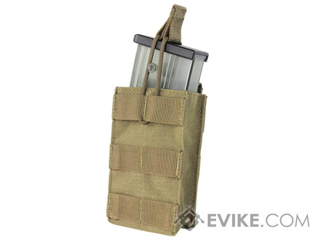 Condor Single Open Top Magazine Pouch for G36 Magazines (Color: Tan)