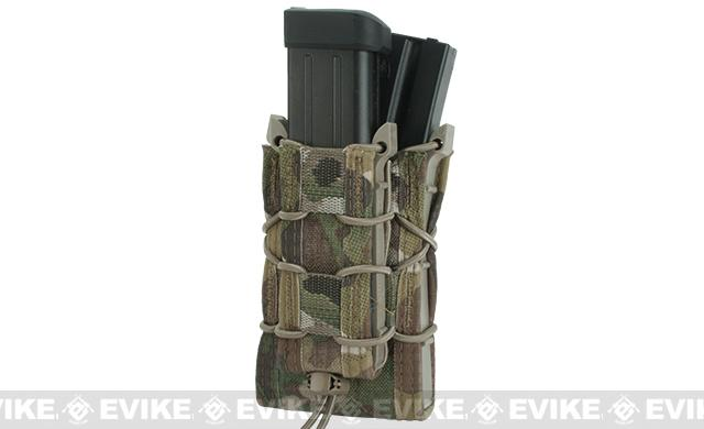 HSGI Double Decker TACO® LT Modular Single Rifle and Pistol Magazine Pouch Belt Mounted - Multicam