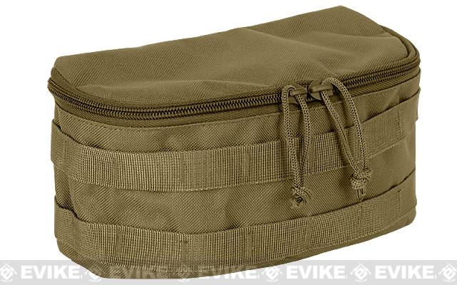 Voodoo Tactical Rounded MOLLE Utility Pouch (Color: Coyote Brown)