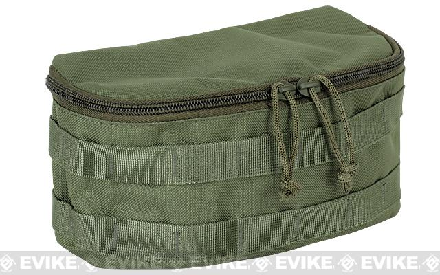 Voodoo Tactical Rounded MOLLE Utility Pouch - OD Green