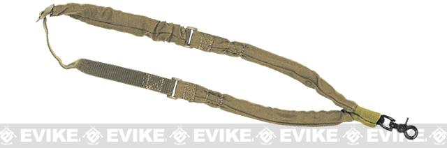 Voodoo Tactical Single Point Bungee Rifle Sling - Coyote Brown