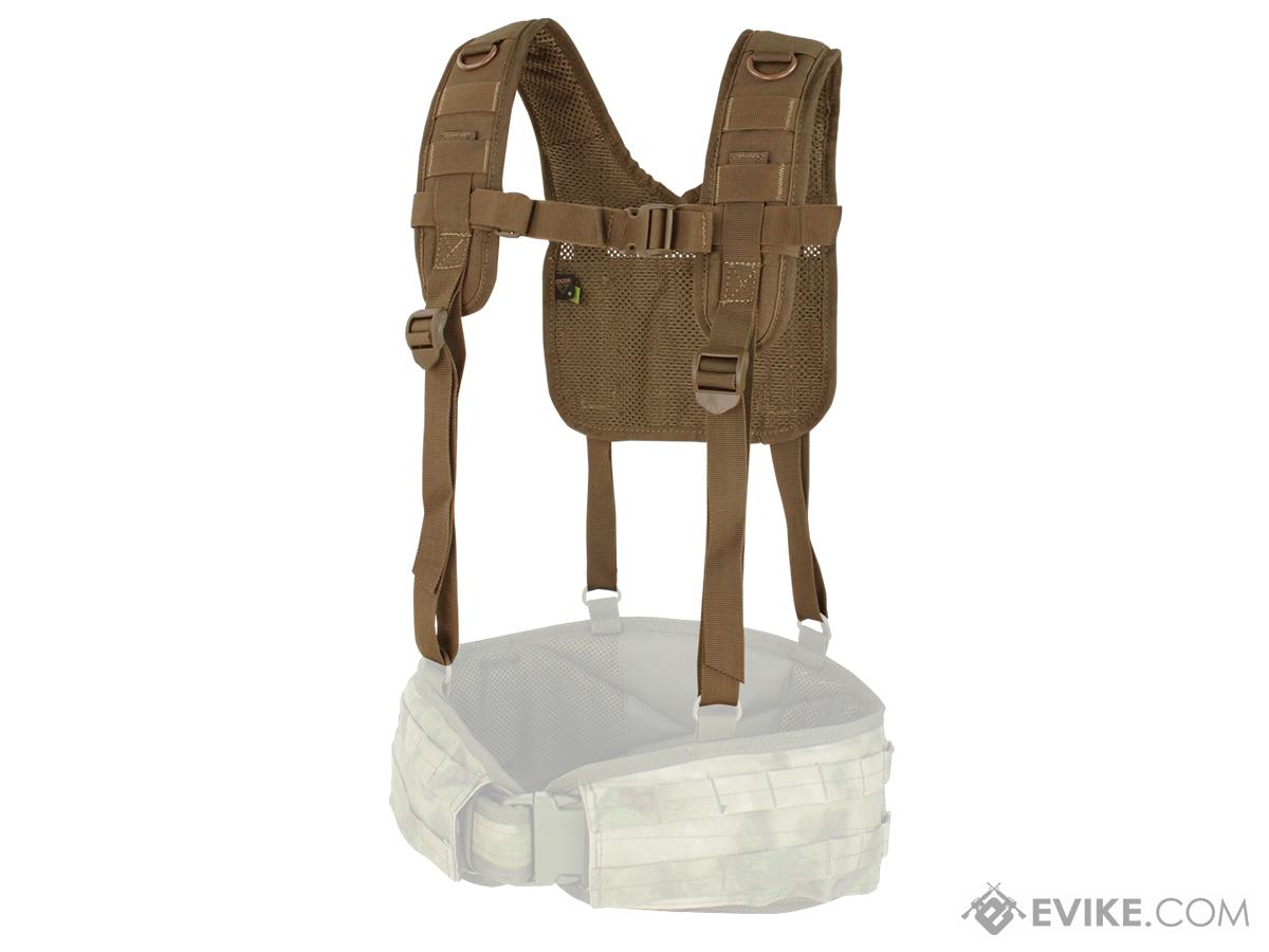 Condor MOLLE H-Harness (Color: Coyote Brown)