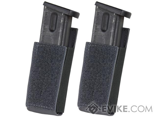 Condor QD Pistol Magazine Pouch for Draw Down Waist Pack - Slate (Pack of 2)