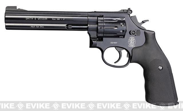 Umarex Smith and Wesson 586CO2 Powered BB Revolver with 6 Barrel - Black (4.5mm AIRGUN NOT AIRSOFT)