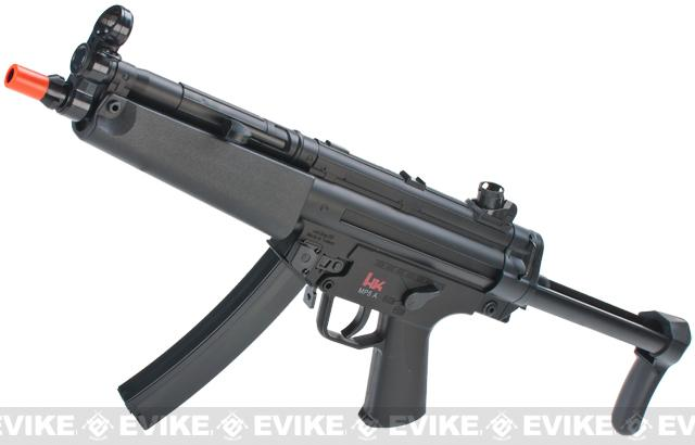 z H&K Licensed MP5-A5 Dual-Power Airsoft AEG / Spring Rifle by Umarex