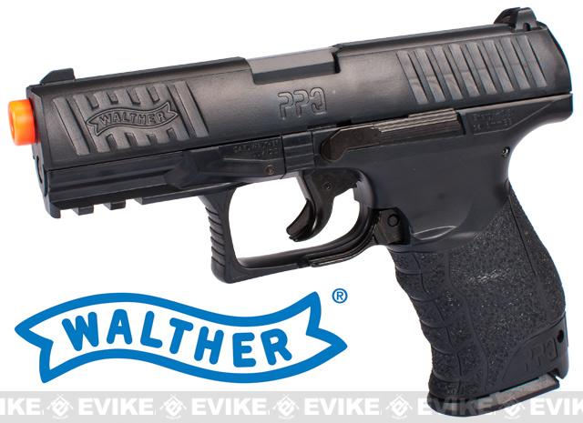 Walther PPQ Special Operations Airsoft Spring Pistol (Color: Black)