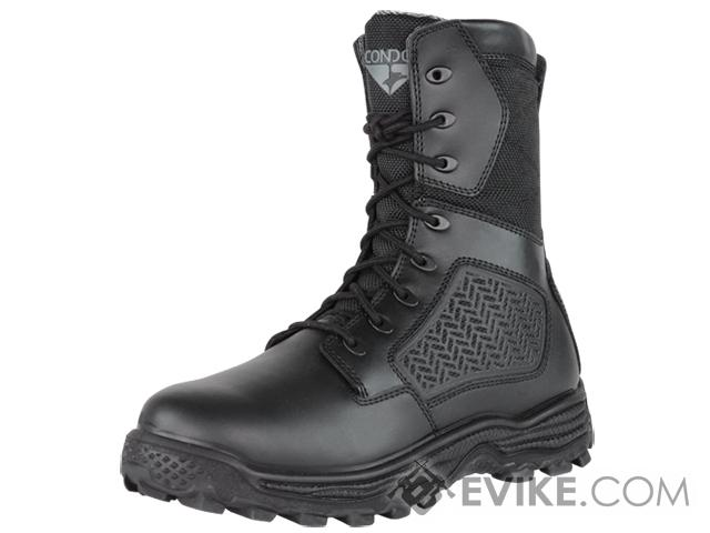 Condor Murphy 9 Side Zip Tactical Boot - Black (Size: 8)