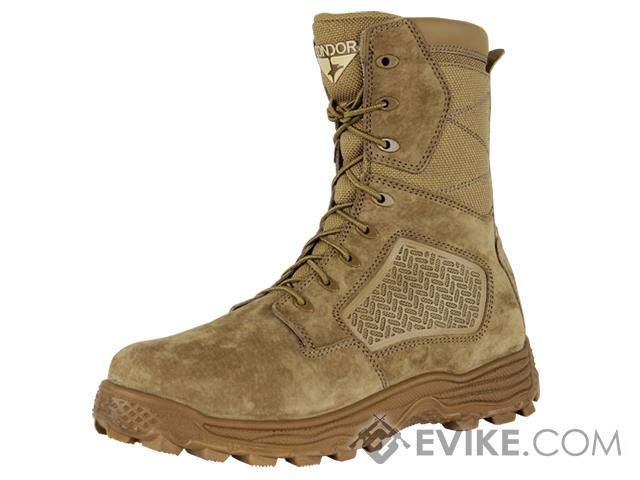 Condor Murphy 9 Side Zip Tactical Boot - Coyote (Size: 7.5)