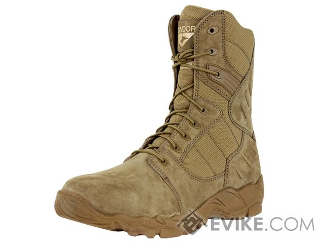 Condor Richards 9 Side Zip Tactical Boot - Coyote (Size: 10)