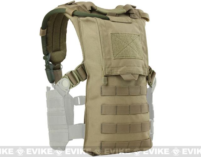 Condor Hydro Harness Hydration Carrier (Color: Tan)