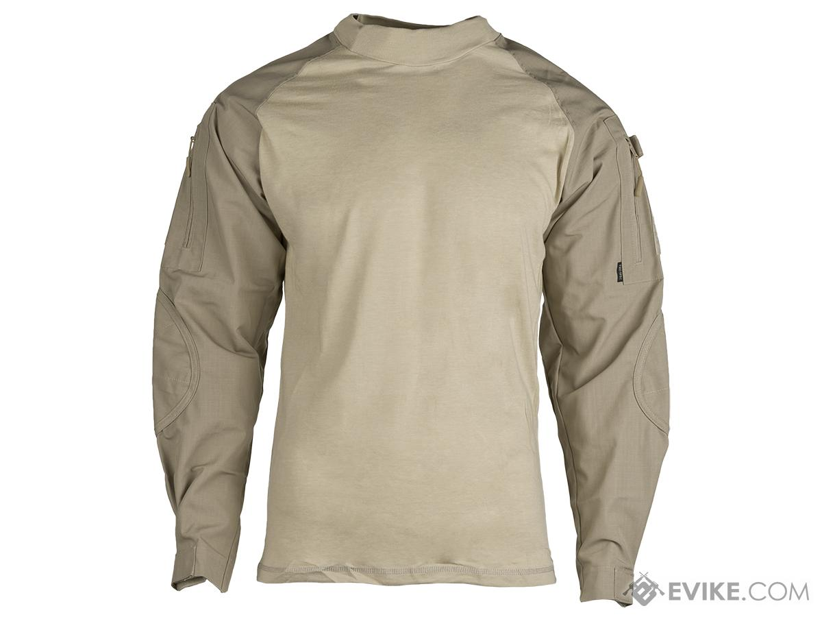 Tru-Spec Tactical Response Uniform  Combat Shirt - Khaki (Size: X-Large)