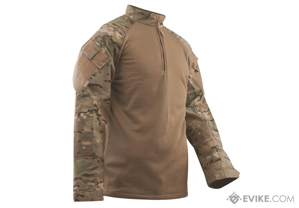 Tru-Spec Tactical Response Uniform Cold Weather  1/4 Zip Combat Shirt - Multicam (Size: Medium)