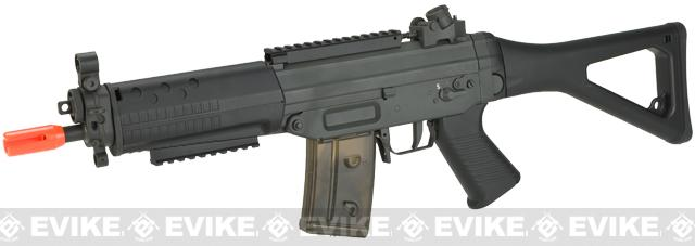 SIG Sauer Licensed SIG 552 Commando Airsoft AEG Rifle w/ Metal Gearbox