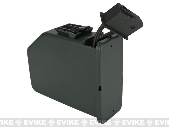 Pre-Order ETA December 2019 A&K 2500 Round Box Magazine for Airsoft M249 AEG Light Machine Guns