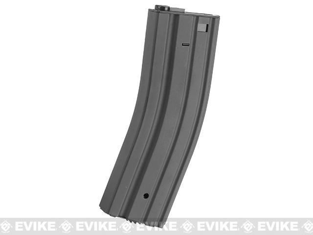 Matrix Universal Feeding Full Metal 500rd Hi-Cap M4 AEG Magazine (Color: Gunmetal Grey)