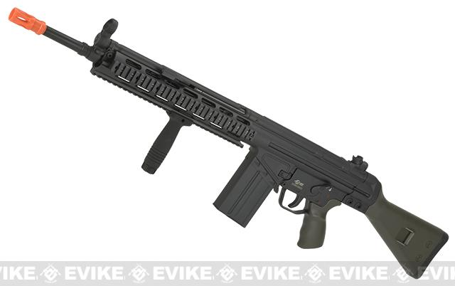 JG G3 T3 SG1 RAS Full Size Airsoft AEG Rifle (Package: OD Green / Rifle)