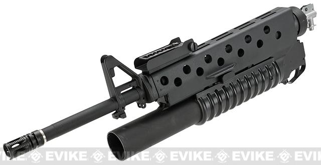 Avengers Airsoft M4 M16 Scar Face Conversion Kit w/ M203 Gas Grenade Launcher