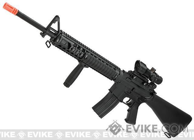 A&K Full Metal M16-A4 SPR NS15 Airsoft AEG Rifle LiPo Ready Airsoft AEG