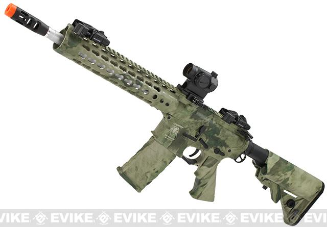 APS Silver Edge Gearbox Full Metal 10 M4 Airsoft AEG Rifle (Color: A-TACS Foliage)