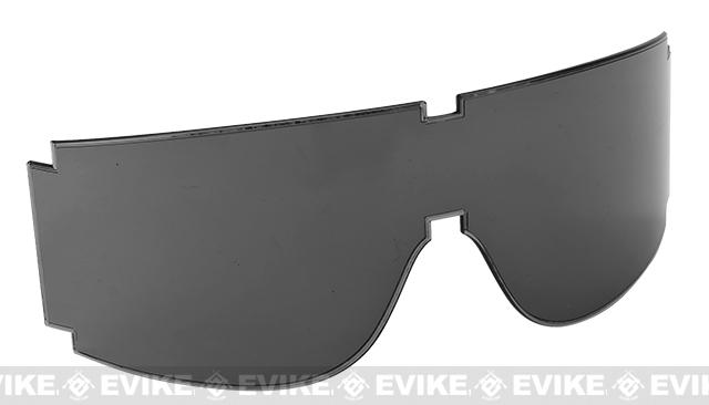 Spare lens for BOLLE Guarder T-800 GX-800 GX-1000 Series Shooting Goggles - Gray