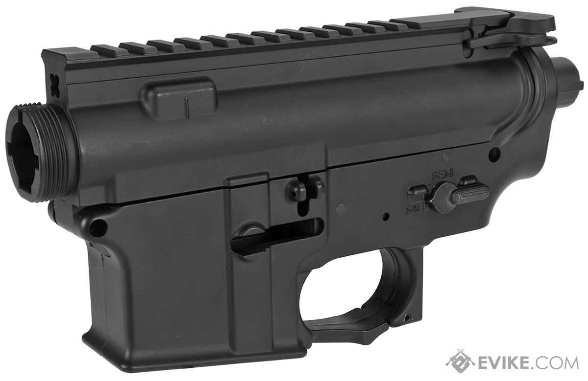 APS Full Metal Receiver Set For M4/M16 Airsoft AEGs (Color: Black)