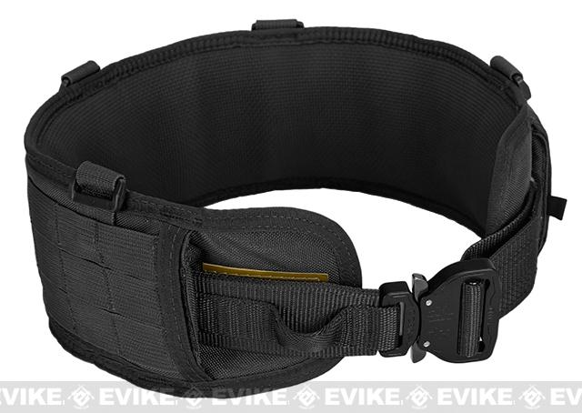 z HSGI SureGrip Padded Military Belt - Black (Size: 46)