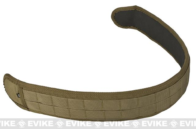 HSGI SlimGrip Padded Duty Belt (Color: Coyote Brown / 35.5)