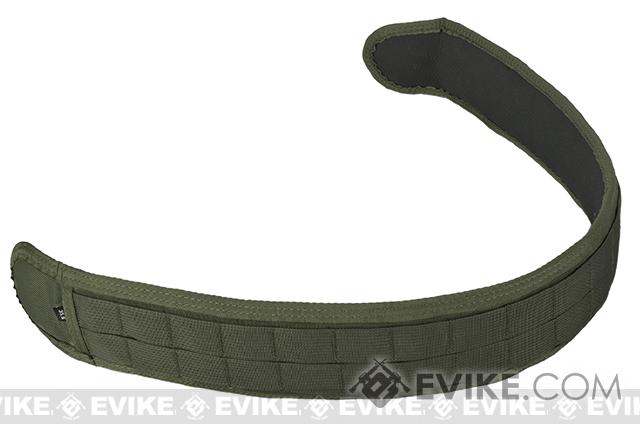 HSGI SlimGrip Padded Duty Belt (Color: OD Green / 30.5)