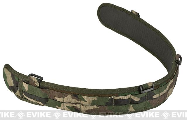 HSGI SlimGrip Padded Duty Belt (Color: Woodland / 35.5)