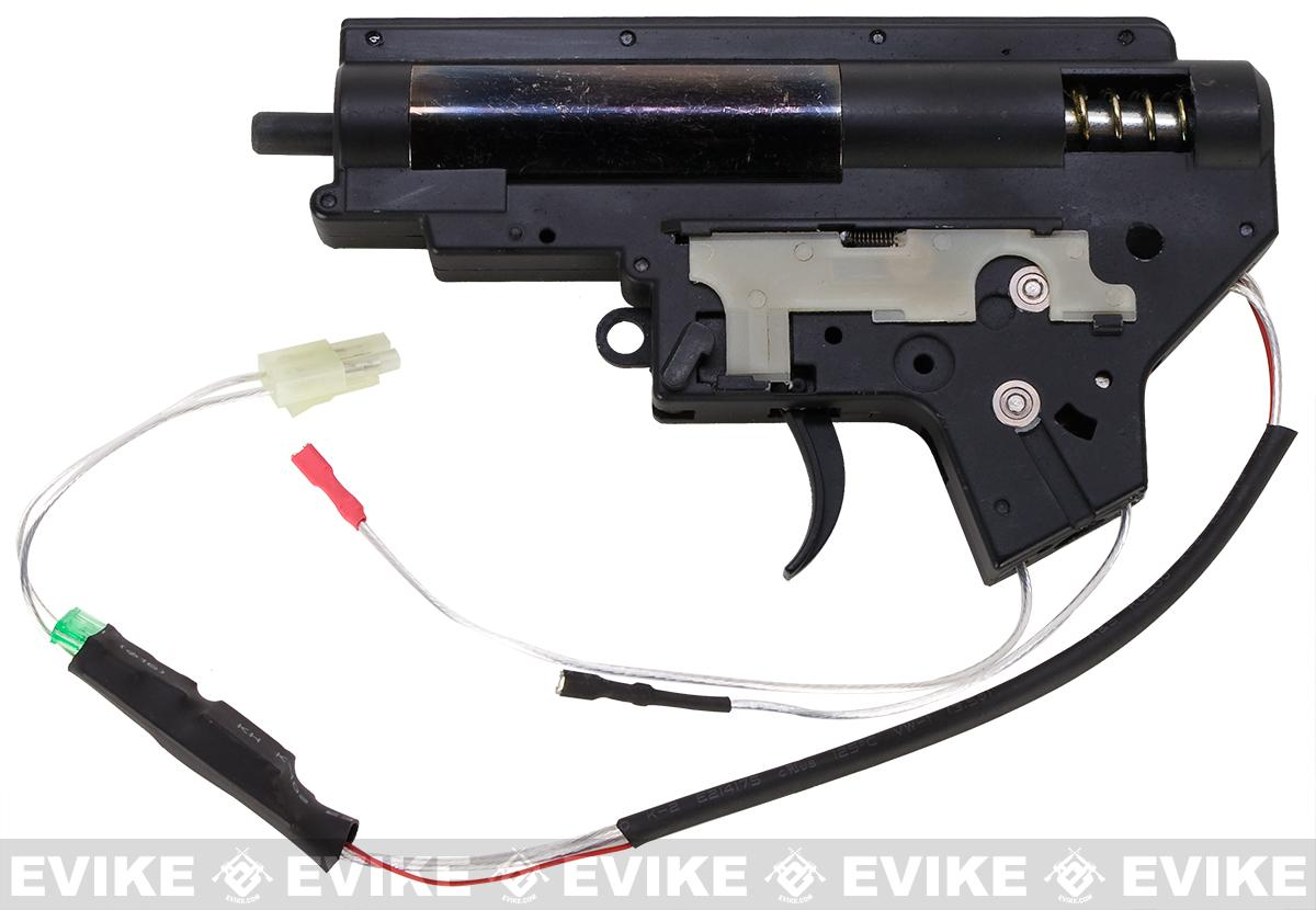 CYMA 8mm Reinforced Gearbox for M4 M16 Series Airsoft AEG w/ MOSFET - Rear Wired