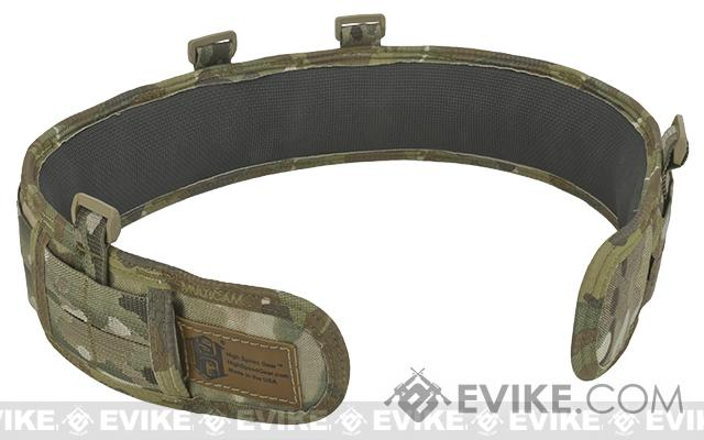 HSGI Slotted Slim-Grip Padded Duty Belt (Color: Multicam / Small)