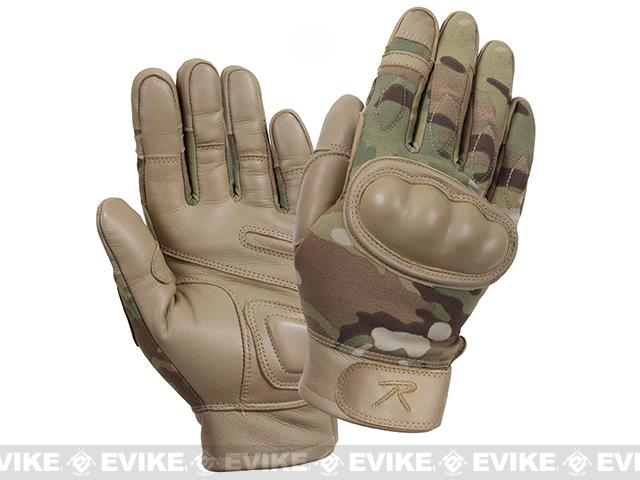 Rothco Hard Knuckle Tactical Gloves - Multicam (Size: Small)
