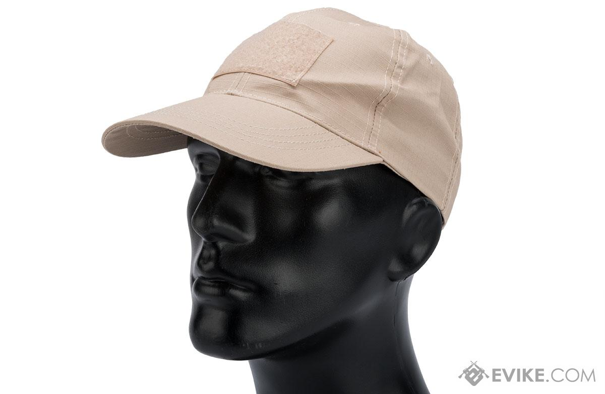 Phantom Gear Rip-Stop Patch Ready Operator Tactical Ball Cap (Color: Tan)