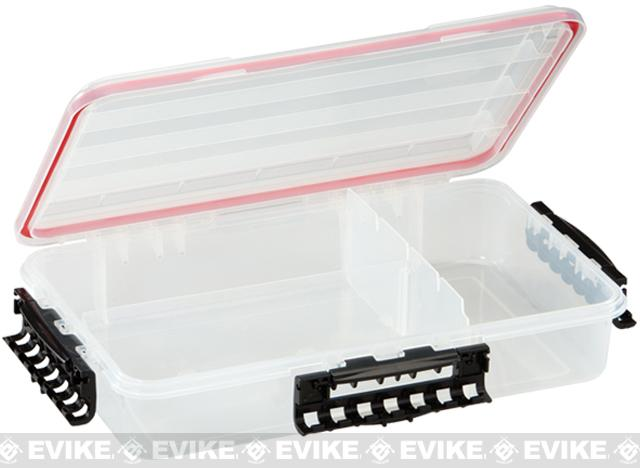Plano Waterproof Stowaway® Clear Storage Utility 3700 Size Divided Box - 1 to 3 Compartment