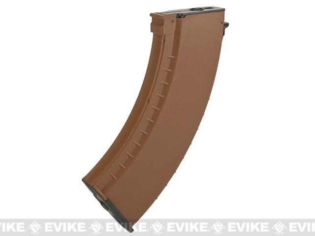 Matrix 150rd  Mid-cap No Winding Magazine for AK Series Airsoft AEG (Color: Imitation Bakelite)