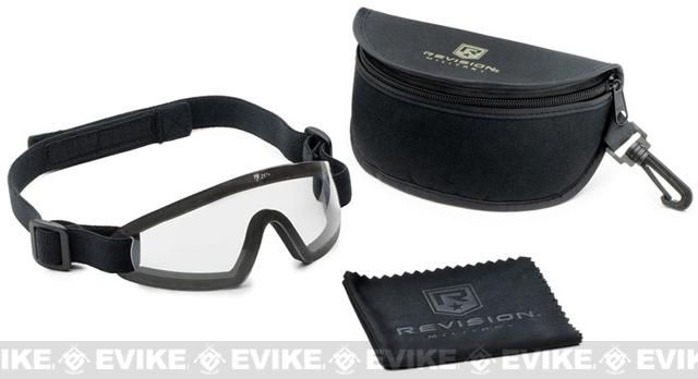 Revision Exoshield Extreme Low-Profile Eyewear - Black/Clear